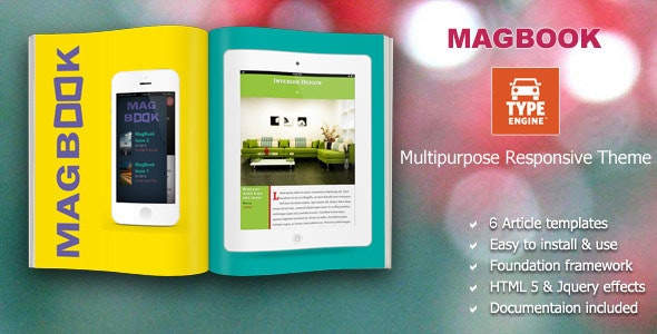 Magbook TypeEngine Template - TypeEngine Themes