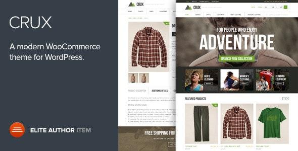Crux - A modern and lightweight WooCommerce theme - WooCommerce eCommerce