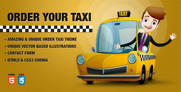 Order Taxi Theme - Miscellaneous Specialty Pages