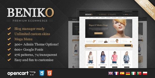 Beniko - Responsive OpenCart Template - OpenCart eCommerce