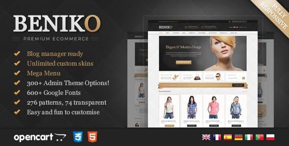 Beniko - Responsive OpenCart Template