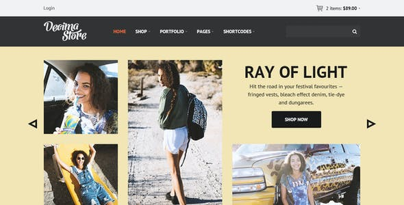 Decima eCommerce HTML Template