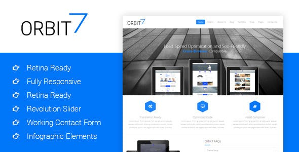 Orbit7 - Creative Multipurpose HTML5 Template