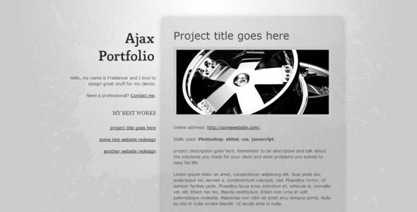 Ajax Portfolio - Portfolio Creative