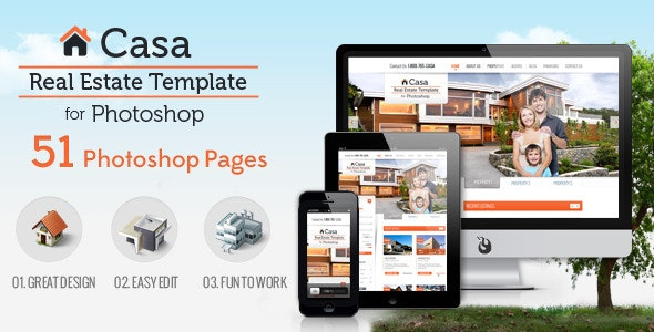 Casa Real Estate Template 51 Pages - Business Corporate