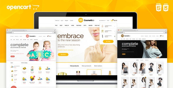 Cosmetico - Responsive OpenCart Template - OpenCart eCommerce