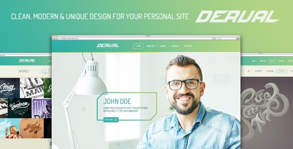 Derval PSD Template - Photoshop UI Templates