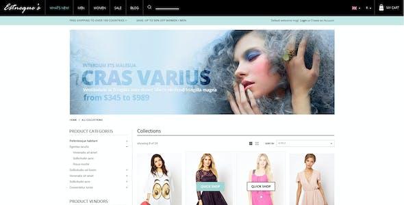 Clothing Store Shopify Theme - EstNeque