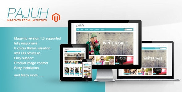 Pajuh - Clean and Responsive Magento Templates  - Magento eCommerce