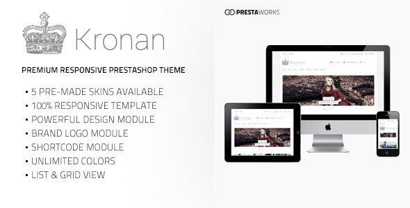 Kronan - Responsive PrestaShop Theme - Fashion PrestaShop