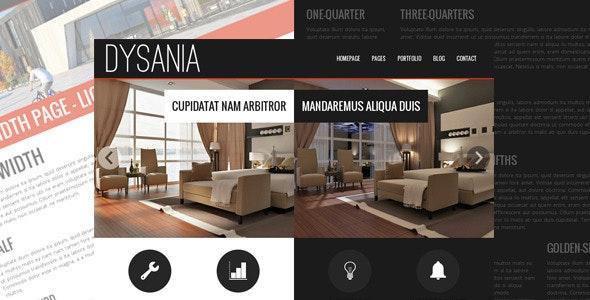 Dysania- Responsive Multi-Purpose HTML Template - Business Corporate