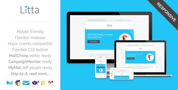 Litta - Clean Responsive Newsletter Template