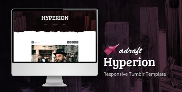 Hyperion - Responsive Tumblr Template