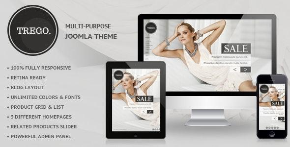 Trego - Premium Responsive Joomla Theme - Retail Joomla