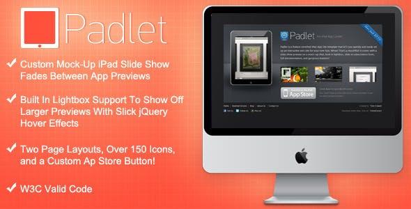 Padlet iPad App Site Template