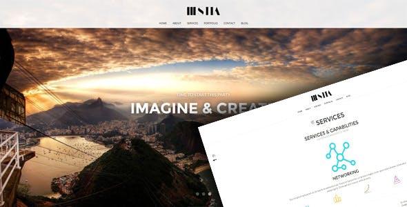 Hestia - Responsive Unique HTML 5 Template