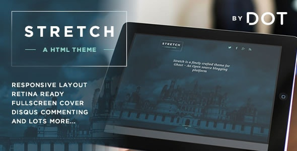 Stretch - Responsive HTML Theme by Themeist - Personal Site Templates