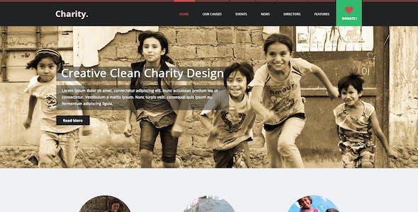 Charity   Multi Purpose Non-Profit PSD Theme