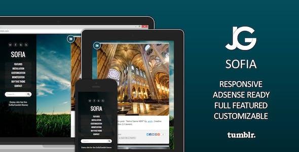 Sofia Premium AdSense-Ready Tumblr Theme