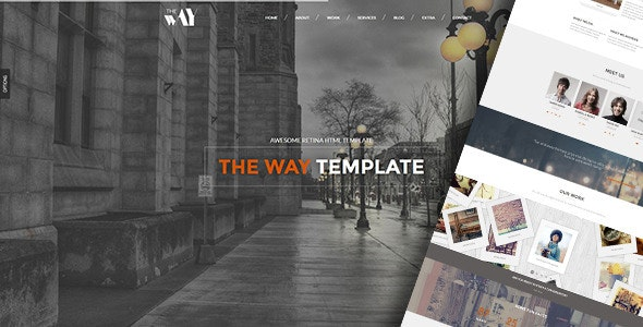 The Way - Responsive Retina Ready Template - Creative Site Templates