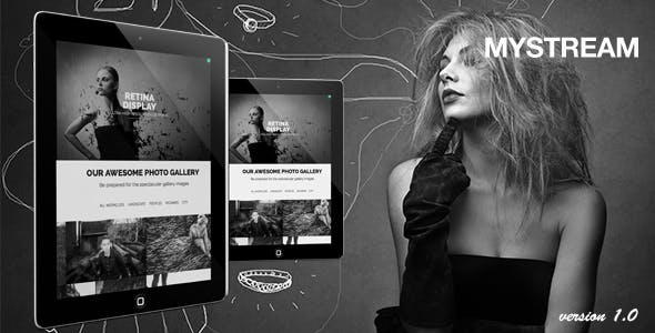 MyStream - Responsive Photography One-Page Template