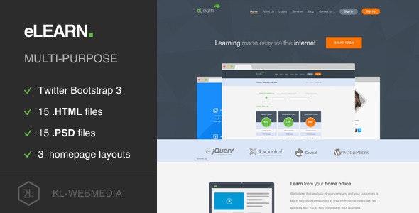 eLearn - Multi-Purpose HTML5 Template - Film & TV Entertainment
