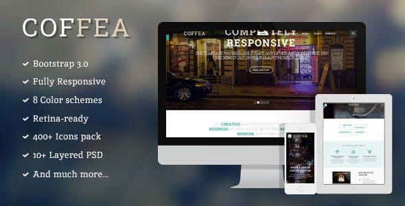 Coffea - Responsive Multi-purpose HTML5 Template
