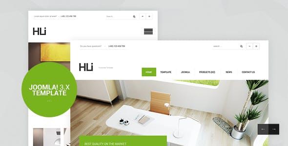 HLI, Responsive Corporate/Business Joomla! 3.9 Template