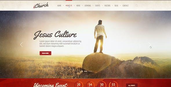 iChurch — PSD Template