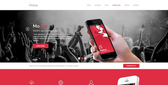 Mobax - App LandingPage Templates