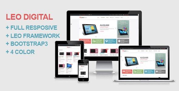 Leo Digital - Technology and Electronics Prestashop 1.6 and 1.7 theme - Technology PrestaShop