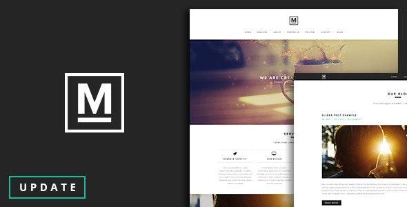 Max - One Page Template - Portfolio Creative