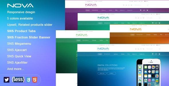 SNS Nova - Responsive Multipurpose Magento Theme - Technology Magento