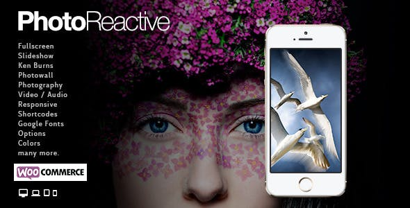 PhotoReactive | WordPress Theme