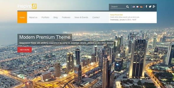 Inspiro B - Responsive HTML5 Template