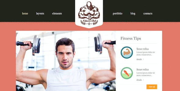Fitness Club- Bootstrap Responsive Theme