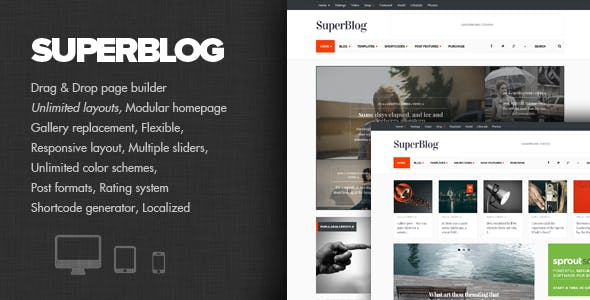 SuperBlog - Powerful Blog & Magazine Theme