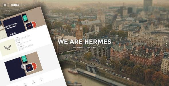 Hermes - Responsive Retina Ready HTML5 Template - Portfolio Creative