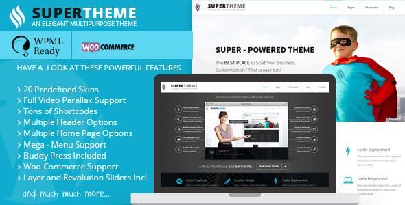 Super - Multipupose Theme