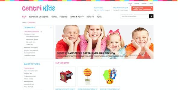 Kids Store PrestaShop Themes - CentriKids