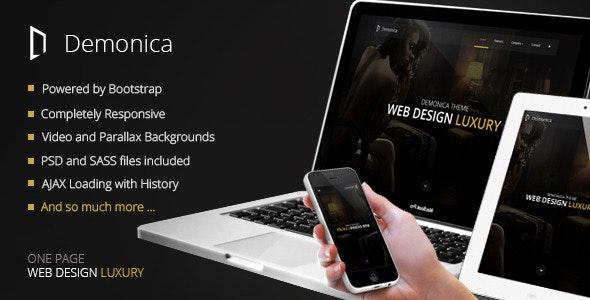 Demonica - Responsive Multi-Purpose Template - Business Corporate