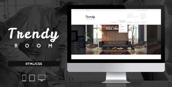 Trendy Room - Elite E-Commerce HTML Template - Corporate Site Templates