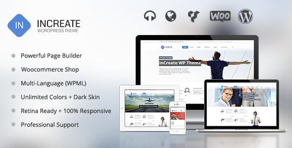 inCreate - Responsive MultiPurpose WordPress Theme