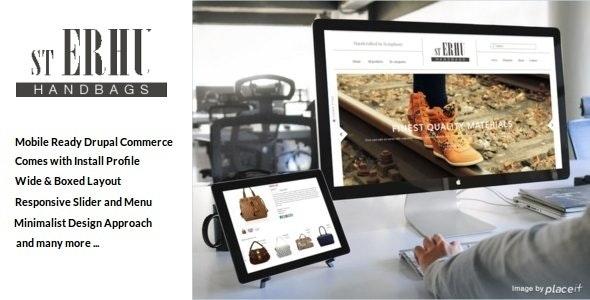 Erhu - Fashion Drupal Commerce Theme - Fashion Retail