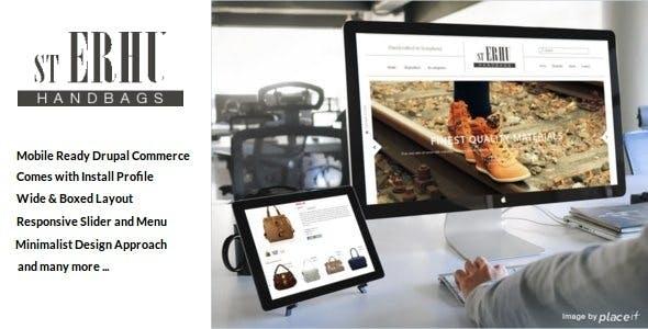 Erhu - Fashion Drupal Commerce Theme