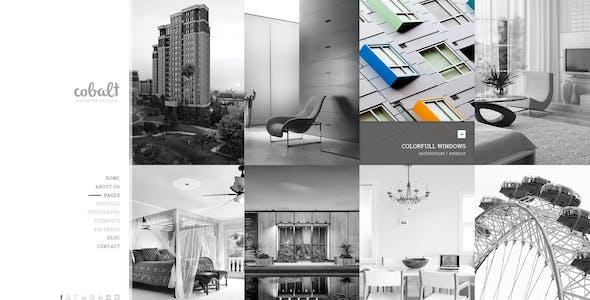 Cobalt - Creative Studio PSD Template