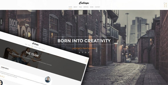 Calliope - Clean Responsive HTML5 Template - Creative Site Templates