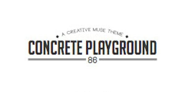 Concrete Playground 1 Page Muse Theme