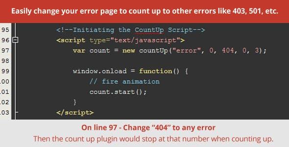 Chemico - Responsive Animated 404 Error Template