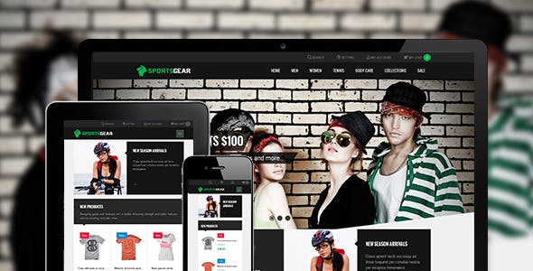 Sportsgear - Magento theme for Sport stores
